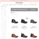Hush Puppies Sale: Men's Footwear from $20, Women's Footwear from $24 using 20% off Coupon Code (Free Delivery Over $99)