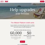 Westpac Altitude Platinum: Bonus 60K Qantas Points (Spend $3,000 in 90 Days), $0 Annual Fee (1st Year) + $50 Qantas Rewards Fee