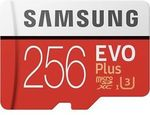 Samsung EVO Plus MicroSD 256GB $83 Delivered @ Shopping Express eBay [eBay Plus Members]