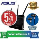Asus RT-AC68U Router + Clique H10 Wireless Headset $158.10 (or Just Router $125.80 from Techprofile): Wireless 1 (eBay Plus)