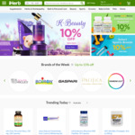 10% off for New Customers (No Min Spend) @ iHerb