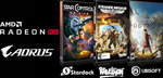 Win 1 of 6 Games (Assassin's Creed Odyssey/Star Control: Origins/Strange Brigade) from Tech Testers/AORUS