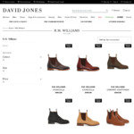 25% off Selected R. M. Williams Boots: From $408.75 Delivered @ David Jones