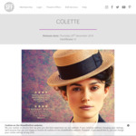 [All States EXCEPT NT/TAS] Free Tickets to Colette (Mainly Mondays) @ ShowFilmFirst (Membership Req'd)
