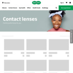 $50 off $199 Spend or More on All Contact Lens Brands + Free Standard Delivery @ Specsavers