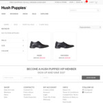 Hush Puppies Men's Dress Shoes (Mask / Mayhem) $50 + $9.95 Shipping (Free over $99 Spend) @ Hush Puppies