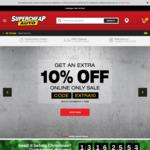 10% off Storewide (Online Only) @ Supercheap Auto