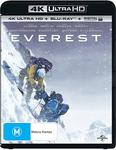 Everest 4k UHD + Blu-Ray + Digital Download $7 (+ Delivery or Free on Prime) @ Amazon AU