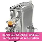 Breville Nespresso Creatista Plus $525.60 + Delivery (Free C&C) @ Peter's of Kensington eBay