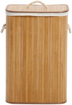 Kingston Laundry Hamper in Natural - Bamboo Natural $27.47 (Was $54.95) @ Myer