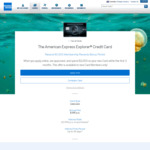 American Express Explorer Credit Card - 50,000 Bonus MR + $400 Travel Credit ($395 Annual Fee)