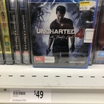 [NSW, PS4] Uncharted 4: A Thief's End - $10 @ Target Mudgee
