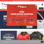 Free Delivery Worldwide + 15% off for Subscribing to Newsletter @ Fanatics Online Store