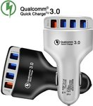 Quick Charger 3.0 Car Charger 4 Port USB 7A US $2.98 (~AU $4.70) Inc GST Delivered @ Tellunow Store AliExpress