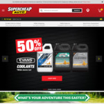20-60% off Storewide @ Supercheap Auto