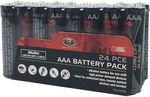 SCA Heavy Duty Alkaline AAA and AA Batteries - 24 Pack - $5 @ Super Cheap Auto