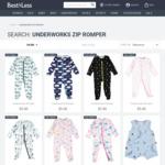 Underworks Baby Zip Romper $5 (RRP $16) @ Best & Less