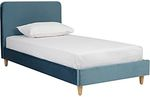 Zanui Mid Year Sale up to 40% off (Samson Velvet Single Bed @ $230.30 + Shipping Fee)