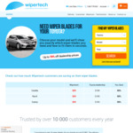 Wipertech Aeroflex Wiper Blades for Toyota Cars (Front Pair) $25 Delivered - Wipertech.com.au