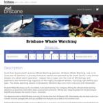 [QLD] Brisbane Whale Watching $110 Per Adult (Save $25) @ Brisbane Whale Watching via Visit Brisbane