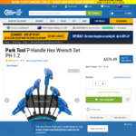 Park Tool P-Handle Hex Wrench Set PH-1.2 $76.49 + Shipping (Free Ship over $99) @ Chain Reaction Cycles