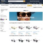 [Amazon Prime] Local Supply Sunglasses $38.37 Delivered @ Amazon AU