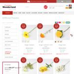 40% off Artificial Flowers @ Curtain Wonderland