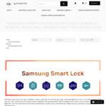 Samsung Smart Digital Door Lock from $234.65 Fingerprint/ Bluetooth/ Wi-Fi (5% off) + Free Shipping @ Lectory.com.au