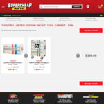 """ToolPro Limited Edition """"NO 53"""" Tool Cabinet - $349 @ Supercheap Auto"""