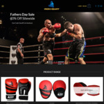 40% off All Boxing, MMA Gear & Cricket Balls + Get Free Shipping on All Orders above $150 @ Iron Heart Sports