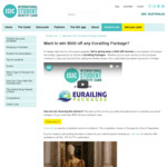 Win a $500 Eurailing Packages Gift Voucher from ISIC