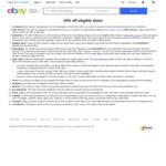 10% off Eligible Items (Min Spend $100, Max Discount $500) @ eBay Australia