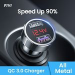 FIVI QC 3.0 Dual USB Charger w/ Voltage Display $2.30 US (~$3.34 AU) Delivered @ FIVI 3C Specialty AliExpress
