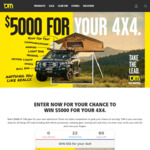 Win $5000 Worth of Gear for Your 4x4 from TJM