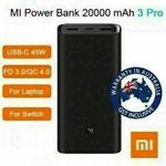 Xiaomi Powerbank 20000mAh 3 Pro $39.95 (Expired), ZMI No 10 QB815 15,000mAh Power Bank $38.95 + Del ($0 w/eBay Plus) @ Apus eBay