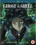 Ghost in The Shell: Stand Alone Complex Complete Series Collection (Blu-ray) - $60.49 Delivered @ OzGameShop