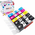 20% off (Kimgoo Compatible Canon PGI-670 xl Cli-671 Ink Cartridges, from $7.96) + Delivery ($0 Prime/ $39 Spend) @ JINXI Amazon