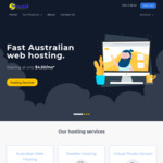 Australian Web Hosting - 50% off for Life for First 20 Customers (Starting from $25 Per Year after Discount) @ Stealth Internet