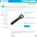Heavy Duty Cable Tie 550x12.7mm (100pk) $34.65 Delivered @ Joltronic