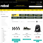 Kids Footwear from $49.99 Pickup or + Delivery (Free for Orders over $150) @ rebel