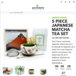 Japanese Matcha Tea Set $100 (Was $130), Free Recipe eBook, Free Gift Wrap, Free Shipping Australia Wide @ Purematcha