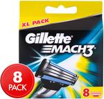 Gillette Mach3 XL Razor Blades 8-Pack - $16.99 + Delivery (Free for Club Catch Members) @ Catch.com.au