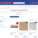 [VIP Club] 50% off Throws & Blankets @ Spotlight