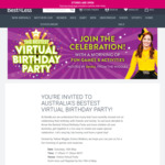 Free Tickets to Australia's Bestest Virtual Birthday Party Hosted by Yellow Wiggle, Emma Watkins @ Best&Less