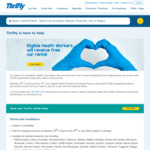 Free Car Rental for Eligible Health Workers @ Thrifty