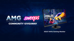 Win an ASUS 144hz Gaming Monitor from Sweeps & AMG