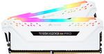 Corsair Vengeance RGB Pro 16GB (2x8GB) 2666MHz CL16 DDR4 White $129 + Delivery @ PC Case Gear
