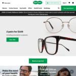 50% off Glasses & Sunglasses (Minimum Spend $200, Valid on 1 Pair, Includes Prescription) @ Specsavers