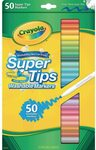 Crayola Washable Supertip Markers 50pk $19.99 + Delivery ($0 with Prime / $39 Spend) @ Amazon AU