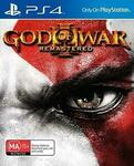 [PS4] God of War 3 Remastered $14.99 Delivered @ Repo Guys eBay
